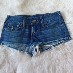 True Religion Blue Short Jean